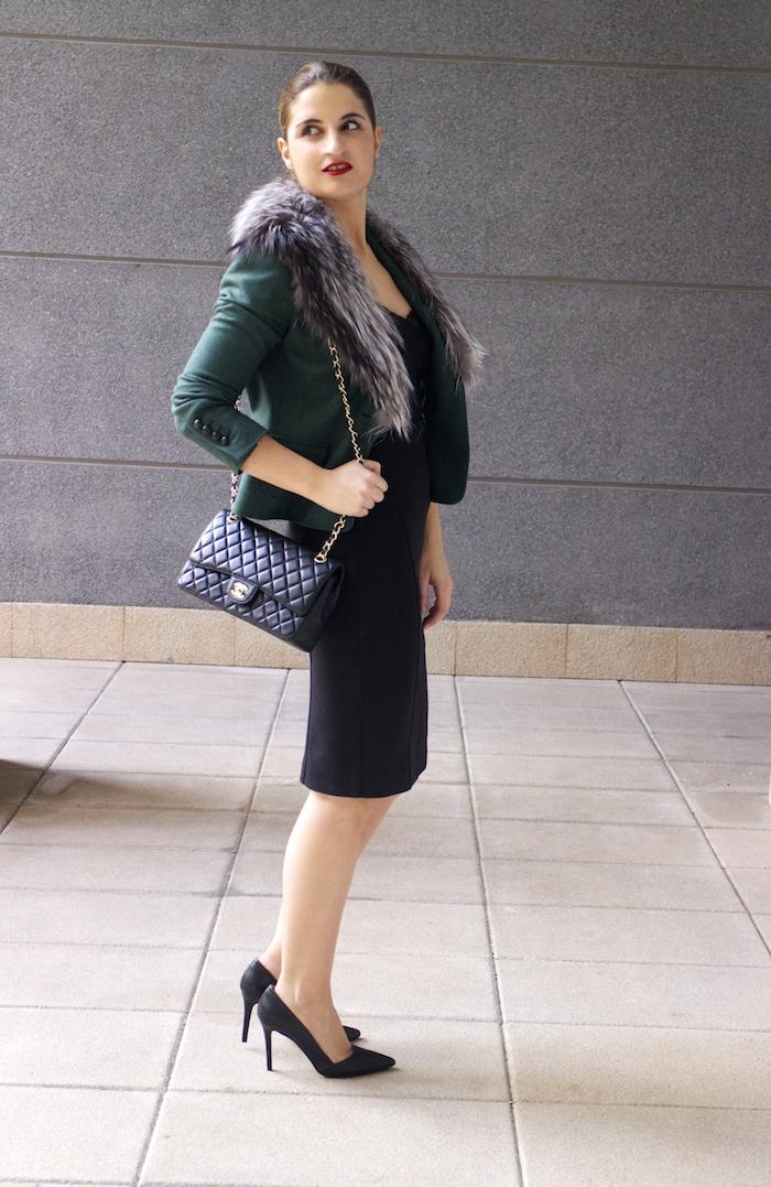 dolce and gabanna jacket fox chanel bag pilar burgos shoes