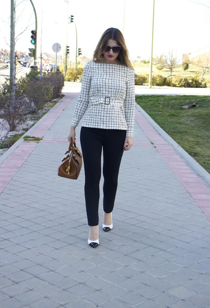 miu miu bag Zara top angel schlesser pants amaras la moda 5