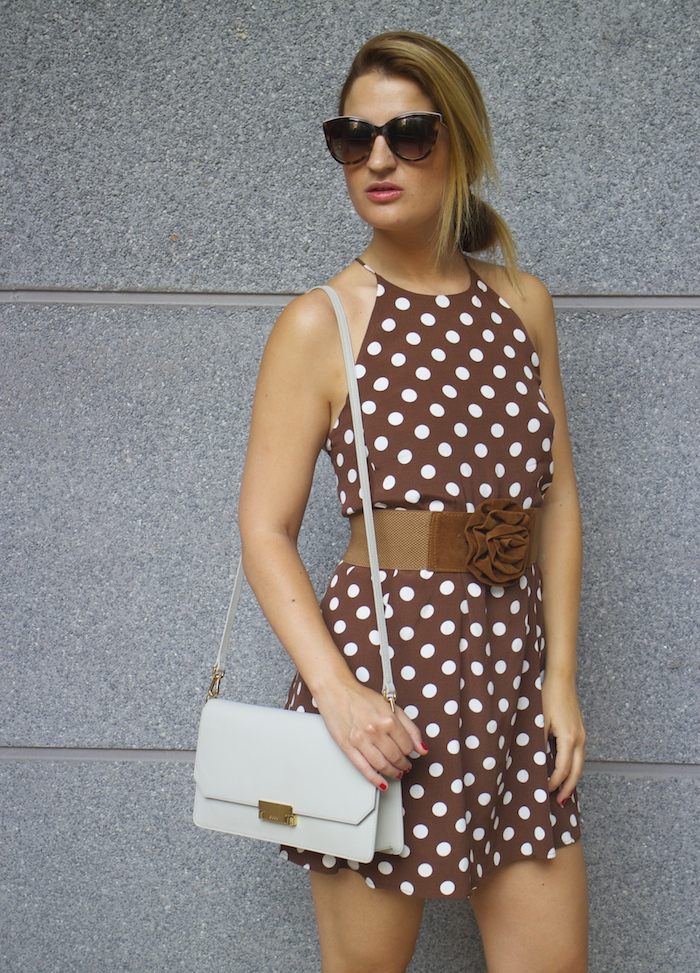 pretty woman dress Zara Ecco bag amaras la moda 6