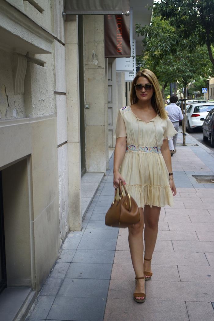 vestido bdba gucci sunnies Miu Miu bag Amaras la moda paula fraile 7