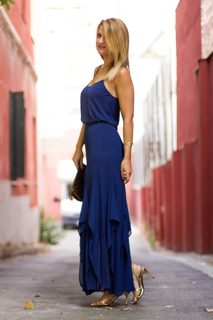 michael kors dress louis vuitton bag amaras la moda Paula Fraile 2