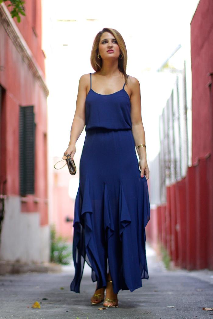 michael kors dress louis vuitton bag amaras la moda Paula Fraile 3