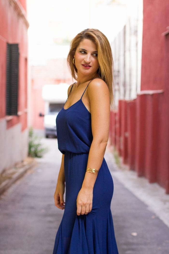 michael kors dress louis vuitton bag amaras la moda Paula Fraile 6