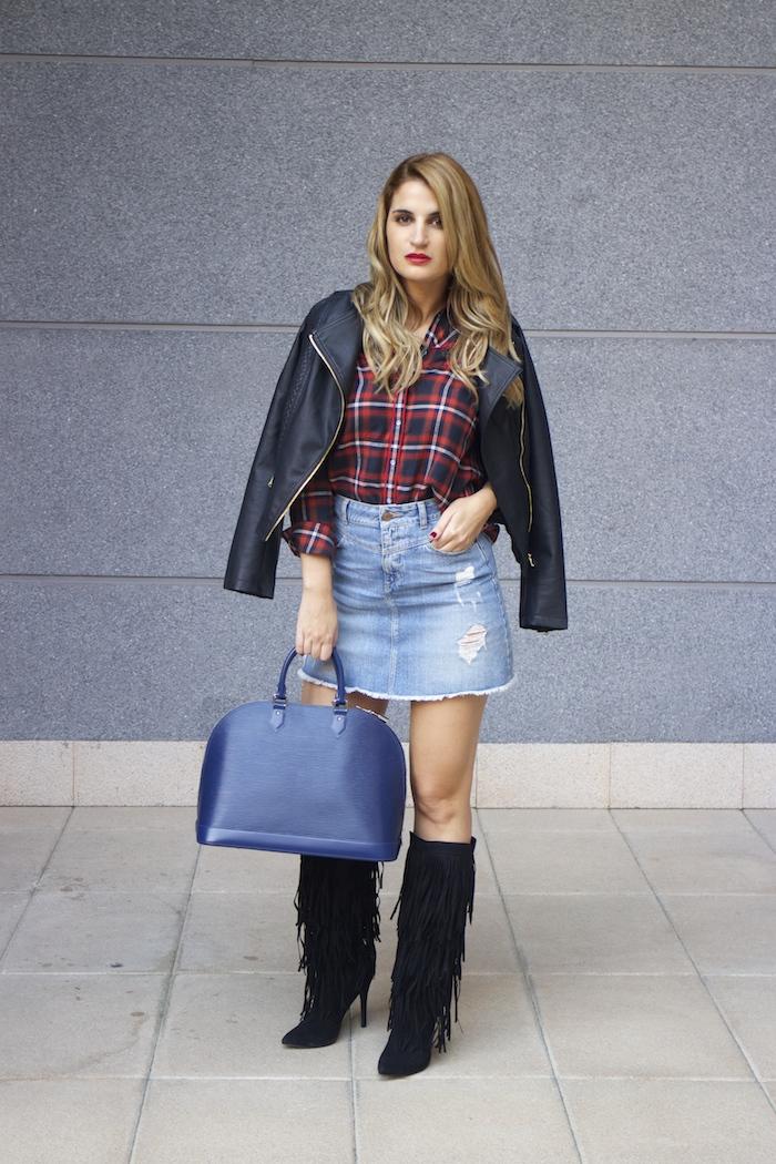 louis vuitton bag La Redoute shirt amaras la moda Paula Fraile 6