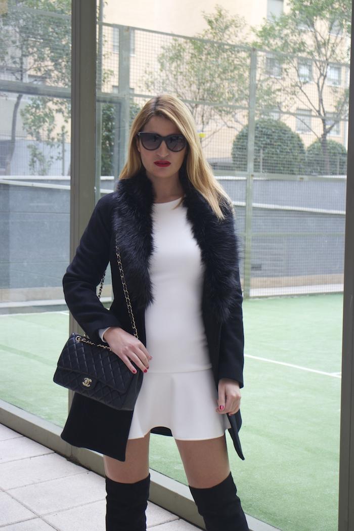 etxart and panno dress coat chanel bag Paula Fraile amaras la moda fashion blogger4