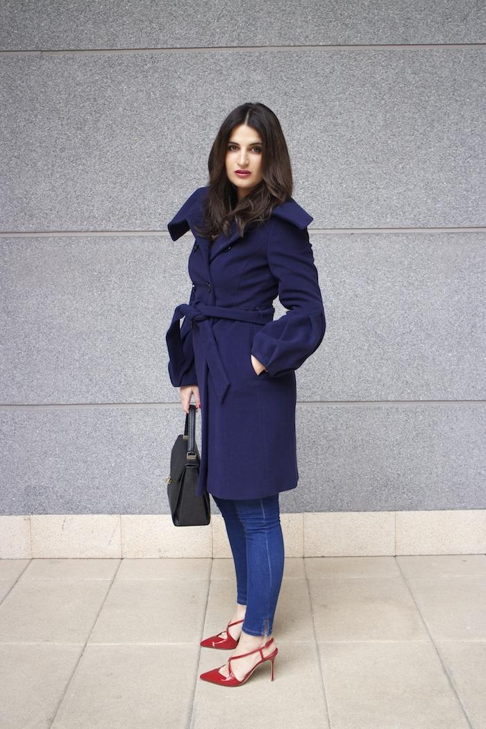 Coast coat sergio rossi stilettos zara top angel schlesser bag paula fraile amaras la moda8