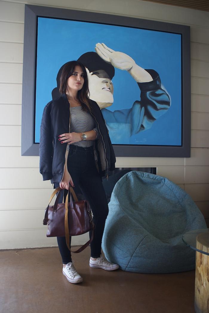 paula fraile amaras la moda jeans levis bolso la redoute converse bomber2