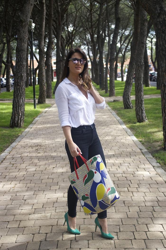 sunper sunglasses amaras la moda paula fraile Carolina Herrera bag6