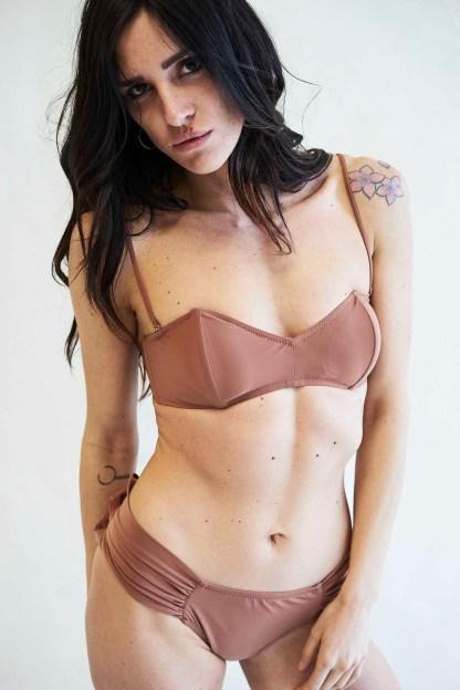 Costume Bikini Maiorca Colore Marrone