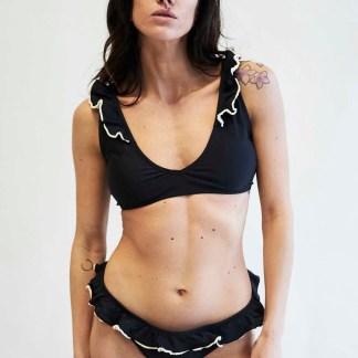 Costume Bikini Valencia Colore Marrone