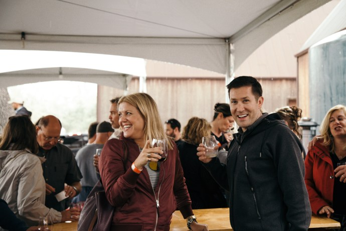Paso Robles Harvest Wine Weekend at Treana Winery by Amarie Design Co.