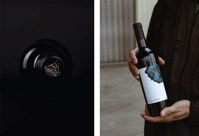 Wine Label Design for Seven Oxen Wine Club in Paso Robles California by Amarie Design Co.