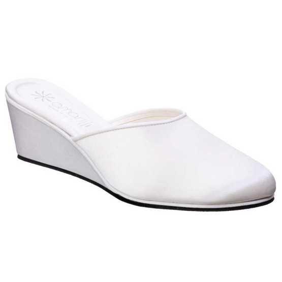 Pantofole da Sposa Beatrice Bianca
