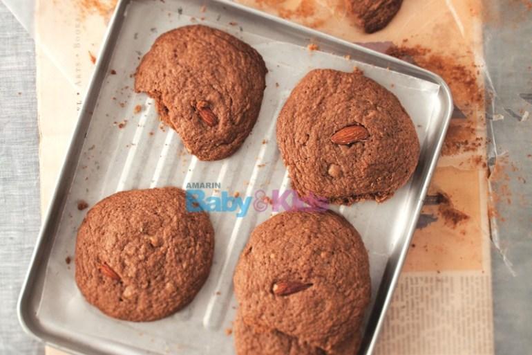 คุกกี้ช็อกโกแลต สูตรขนม แพ้แป้งสาลี