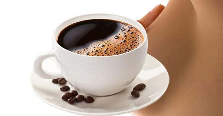 ดื่มกาแฟ ทำหน้าอกเล็ก