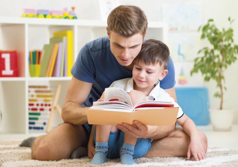 อ่านหนังสือให้ลูกฟัง