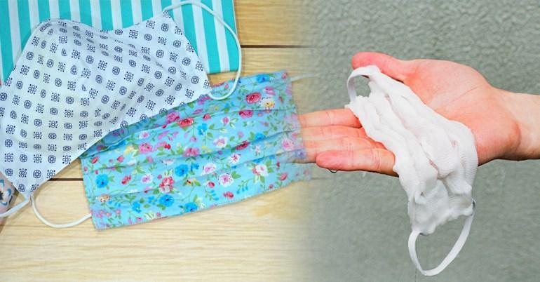 วิธีซักหน้ากากผ้า
