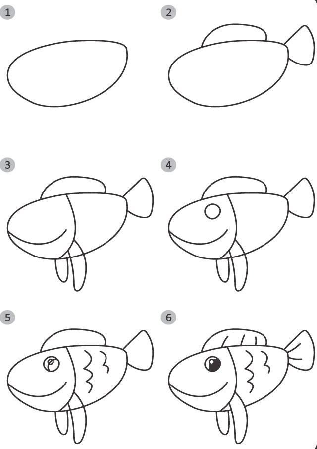 drawing fish