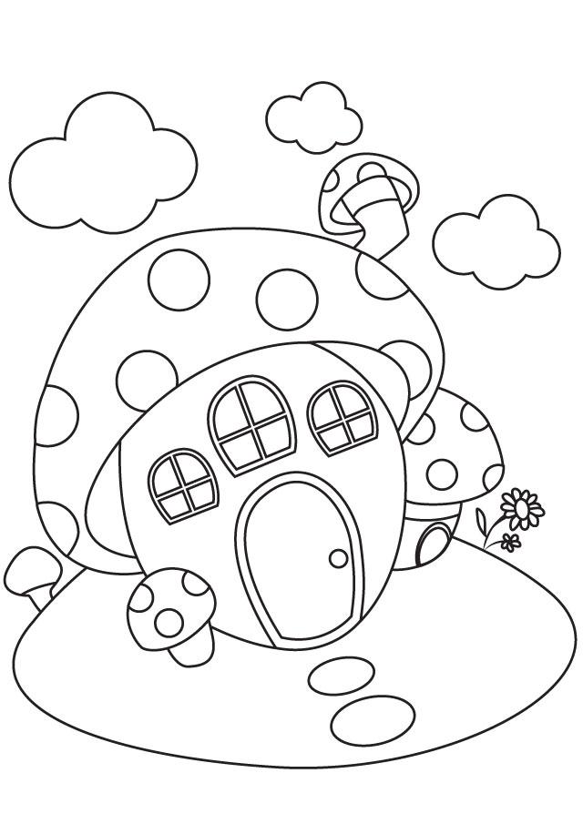 Mushroom-shaped House
