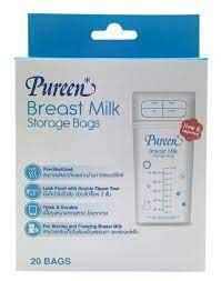ถุงเก็บนมแม่ Pureen