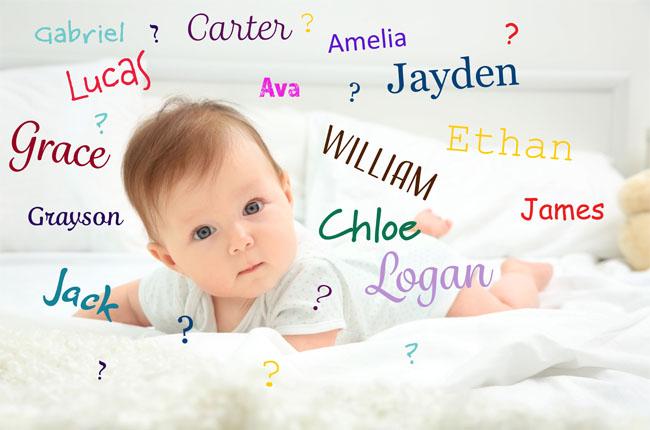 การตั้งชื่อลูก หลักเกณฑ์และแนวคิด