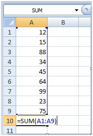 2 How to insert formula to a cell using Excel VBA Range object 2