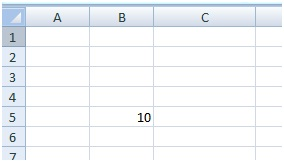 How to assign a value to a cell using Excel VBA range object