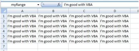 Excel VBA Range object, properties and methods - Amarindaz
