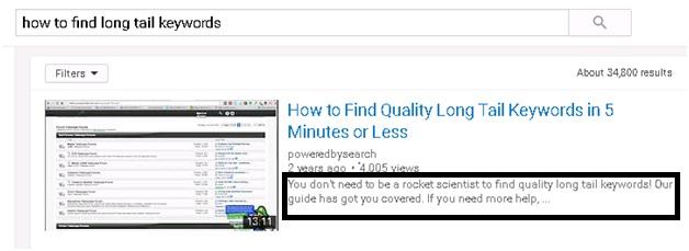 YouTube description SEO 11