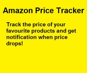 amazon price alert tracker