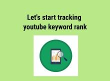 Keyword rank feature image