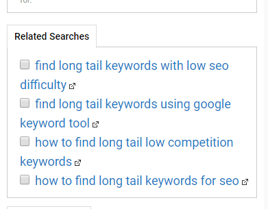 find keywords for youtube video