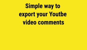How to Export YouTube Videos List In CSV Format [Just 2 mins