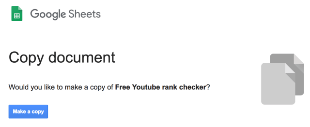 Free Youtube rank checker