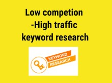 how to find low competition keywords free- Featured image
