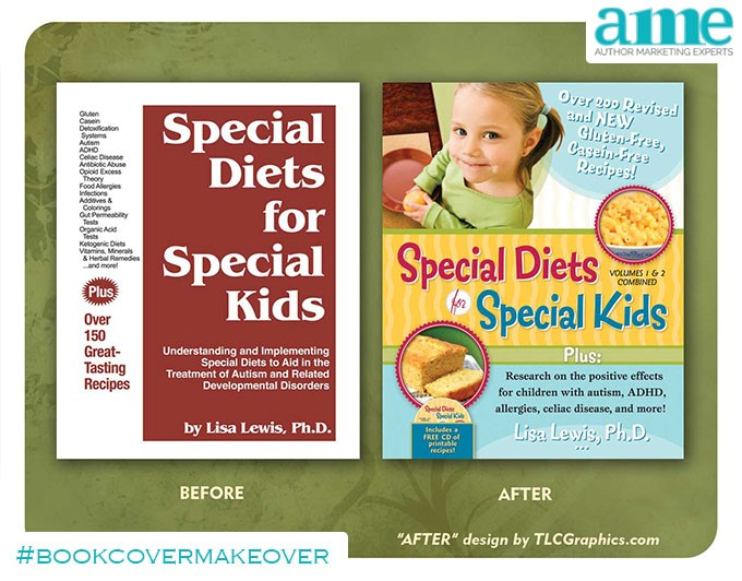 Special Diets for Special Kids #bookcovermakeover | AMarketingExpert.com