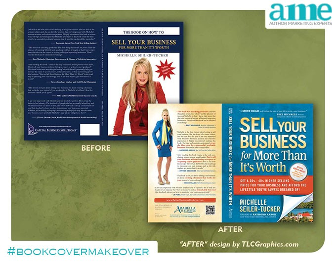 Sell Your Business #bookcovermakeover | AMarketingExpert.com