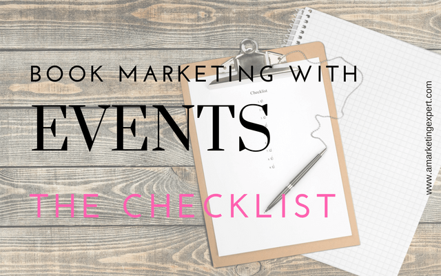 Book Marketing with Events: Your Checklist