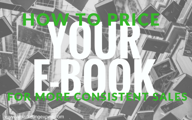 How to Price Your E-Book for More Consistent Sales