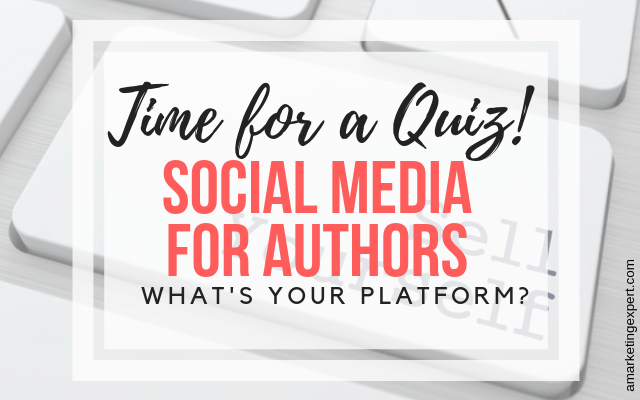 Guide to social media for authors