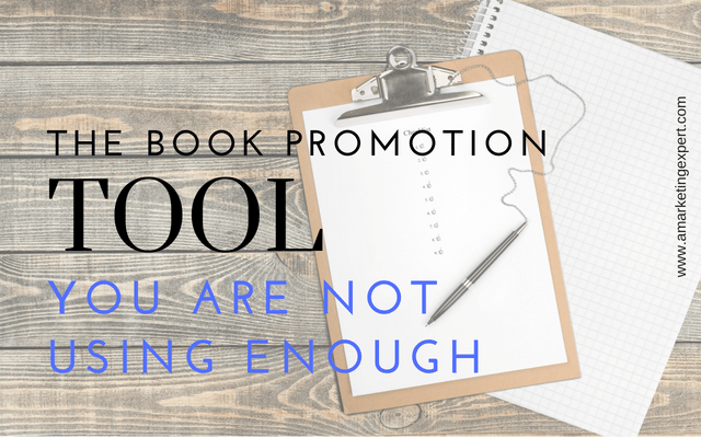 The Book Promotion Tool You Aren't Using Enough