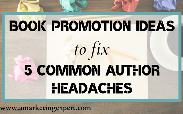 Book promotion ideas for authors