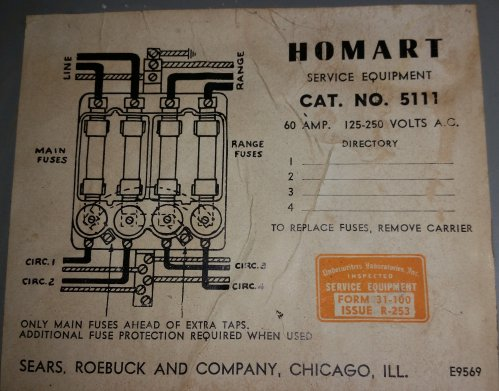 small resolution of homart no 5111 60amp service fuse box old