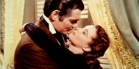 GONE WITH THE WIND, Clark Gable, Vivien Leigh, 1939.