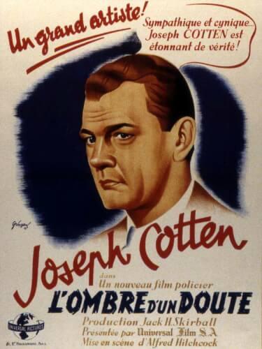 L'ombre d'un doute - Alfred Hitchcock (1943)