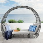 Dark Grey Teramo Outdoor Day Bed Pod Amart Furniture