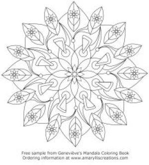 Genevieves Mandalas Coloring Book