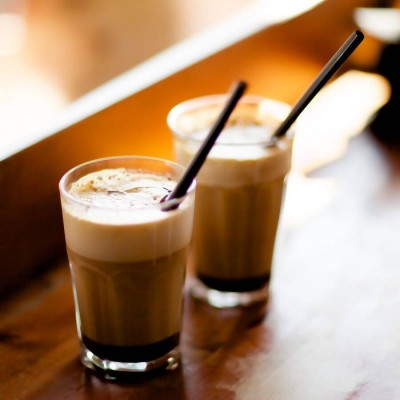 Novas bebidas de café