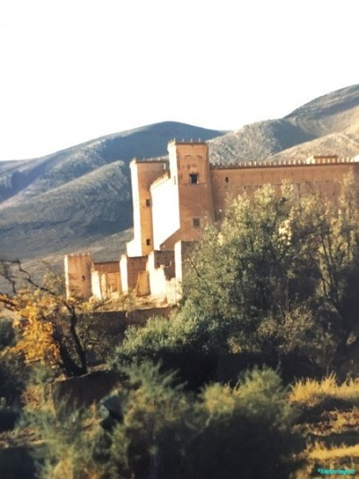 Fortified house in the southern Atlas