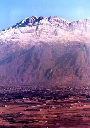 New Years day 1985 on Chiltan hill Quetta